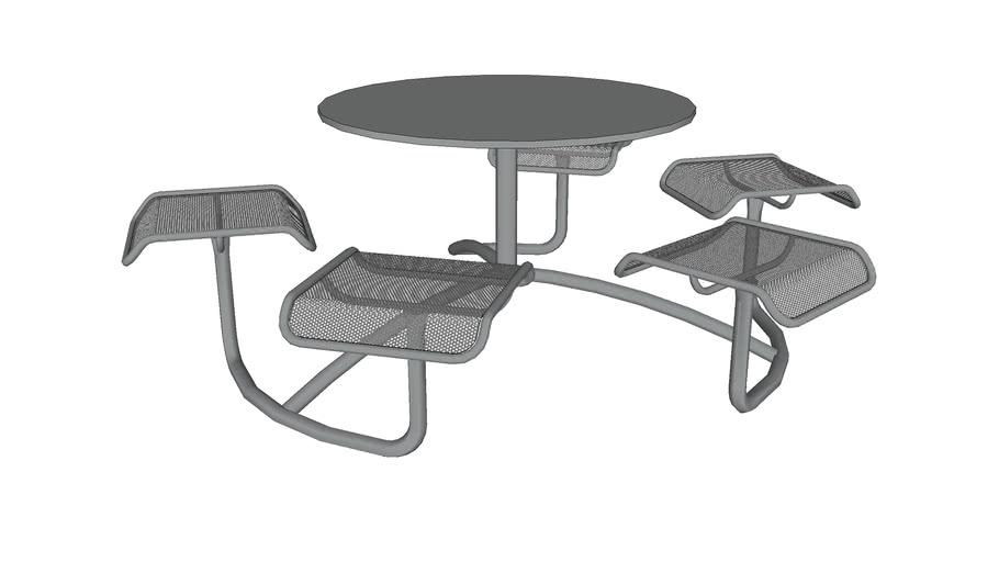 Mingle 5 Seat Table