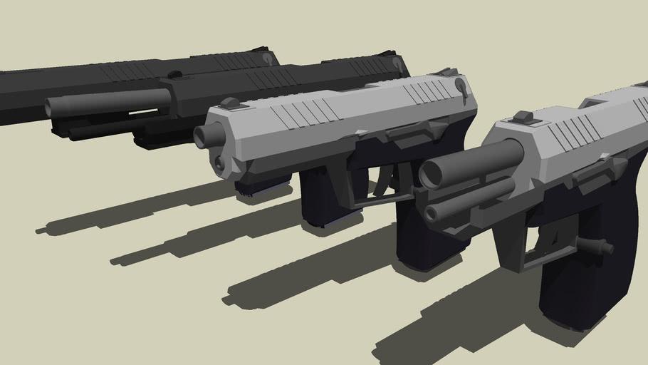 JPOC Pistol Pro Series