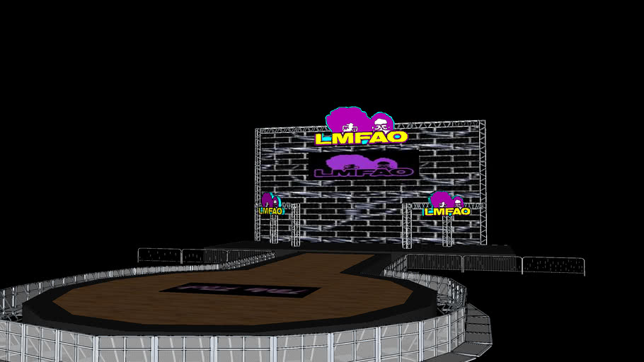 LMFAO stage Concept