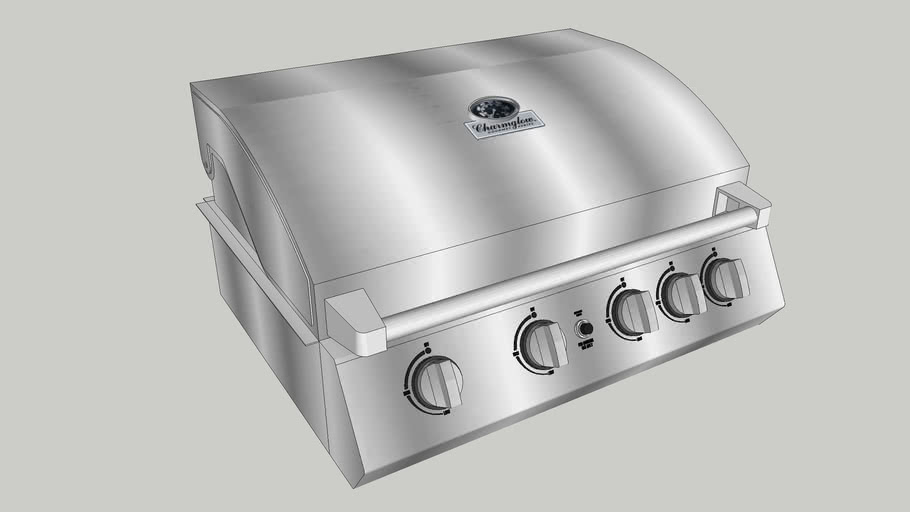 Charmglow Stainless Steel Grill BBQ (PDS)