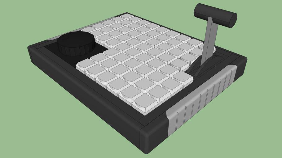 X-keys XKE-64 Jog T-bar