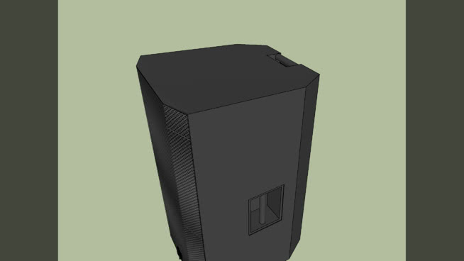 Electro Voice ZLX 15P   3D Warehouse