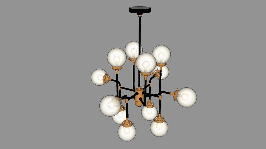 Bistro Globe Light 1
