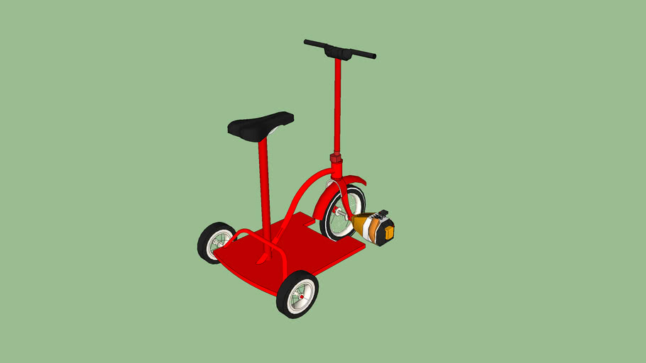 Gas Powered Tricycle