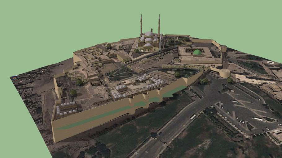 salah aldeen citadel  by architect mohammed sharaf eldeen