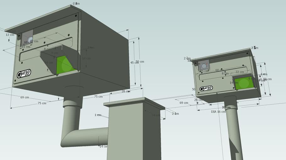 Gatsometer (2 models)