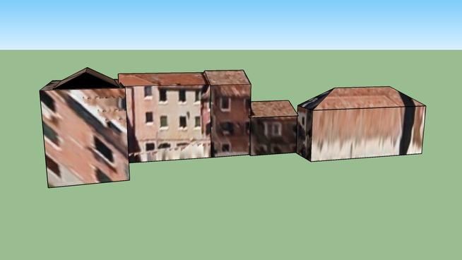 威尼斯意大利的建筑模型