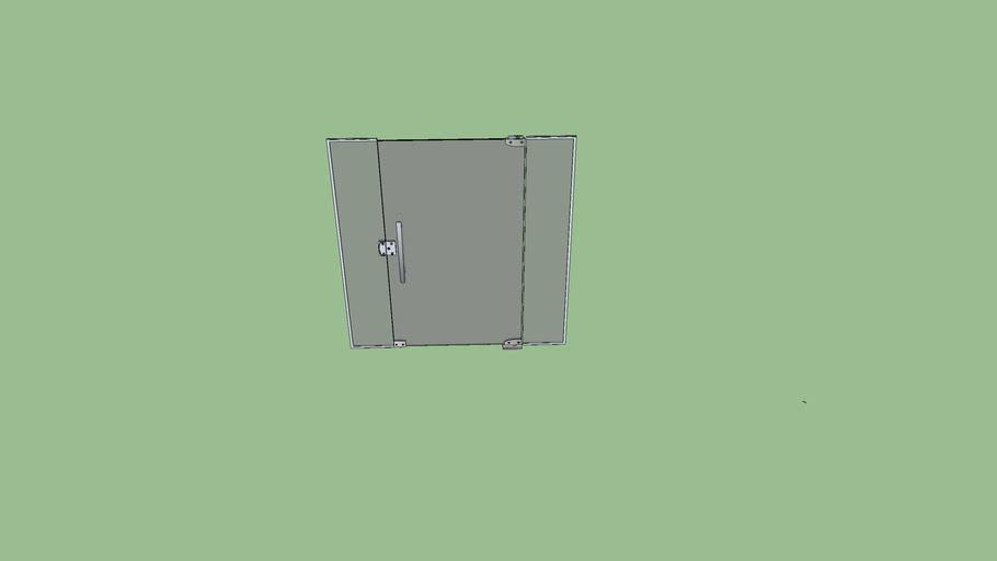Porta de Vidro Dinamica (Rotatoria)