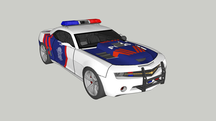 Indonesian Police Car 05