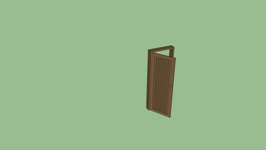 Pintu WC Aluminium (Bathroom Door-aluminium