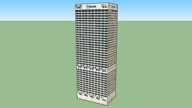 US Bank Building, Milwaukee, WI, USA