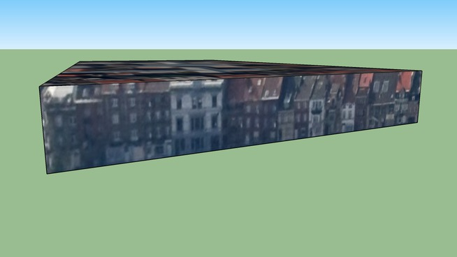 Building in Sint-Jans-Molenbeek, St-Jan-Molenbeek, Belgium