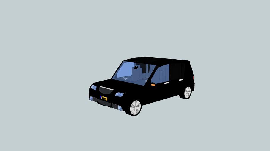 Aangepaste Opel Astra