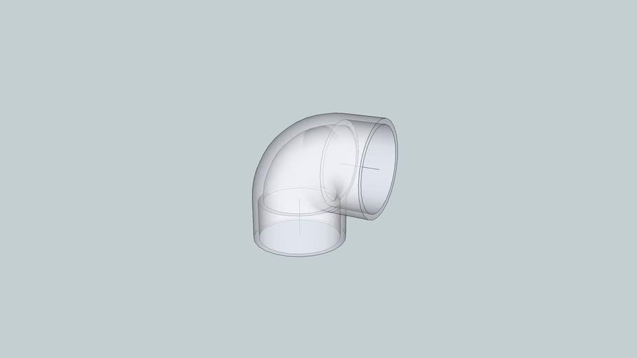2 inch PVC 90