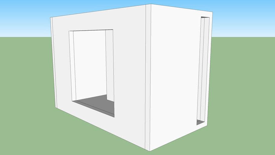 Brutus Square subwoofer box