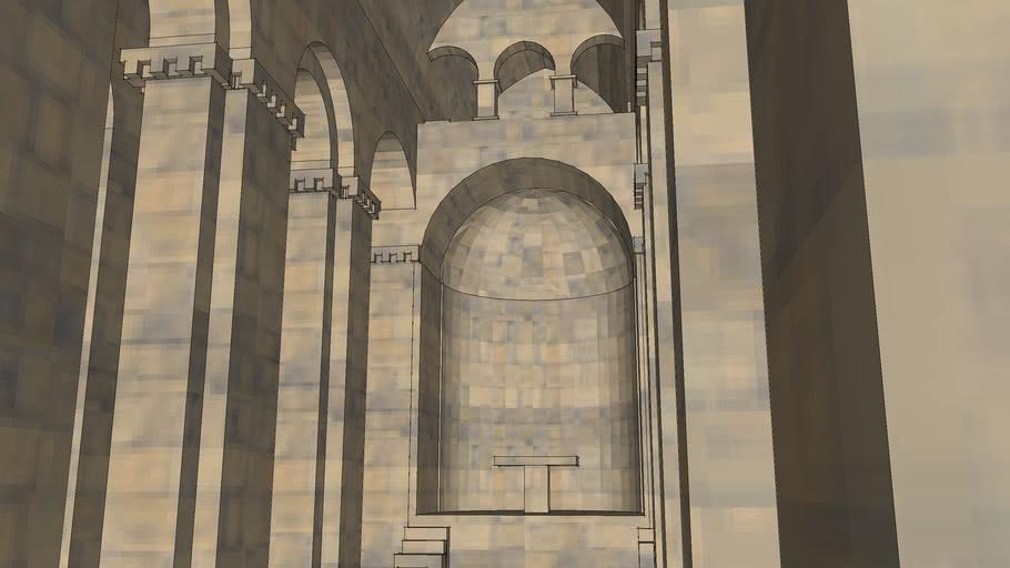 Ծիծերնավանք Tsitsernavank Armenian Basilica AD IV