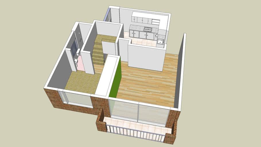 Apartamento Duplex - Primer piso