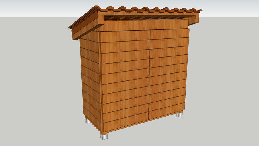 Outdoor cupboard