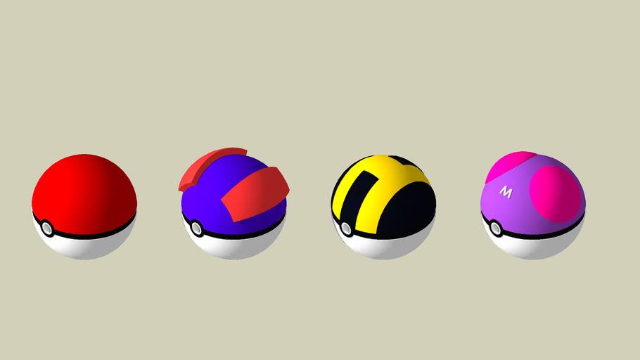 Poké Ball collection 1