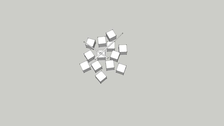 Karlsson DIY Cube Clock