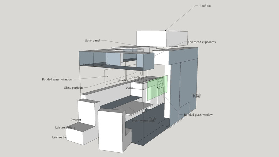 VW Crafter motorhome layout