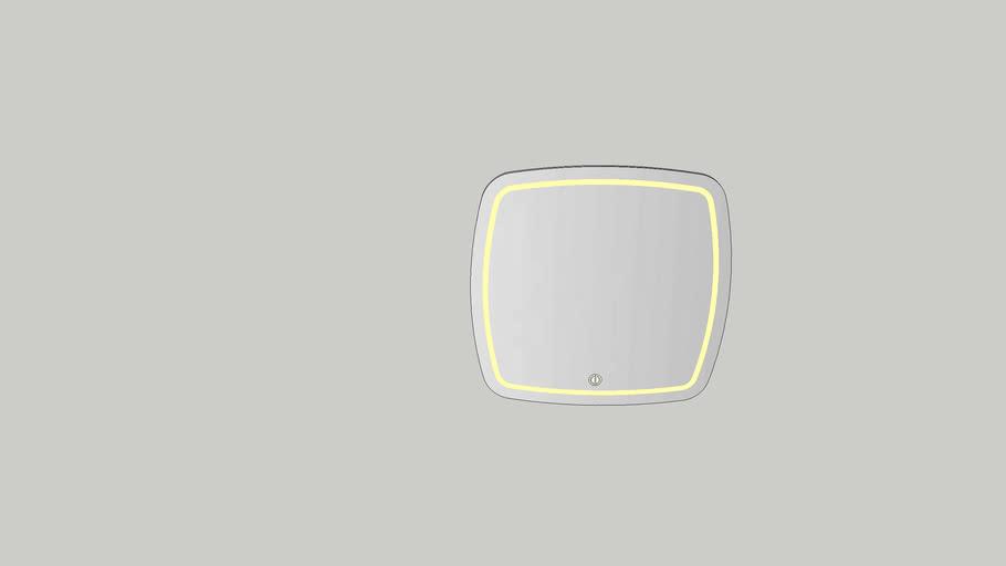 Pablo LED 800mm mirror KVK