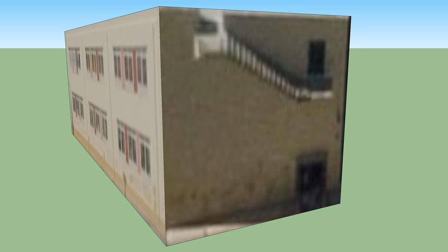 Budova na adrese Palaio Faliro, Řecko