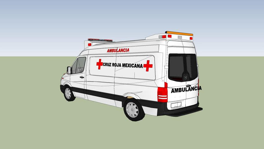 DELEGACION.NOGALES cruz roja mexicana ambulancia