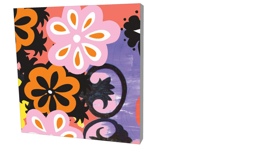 Quadro Sisters Gulassa - Composition of Colors 02