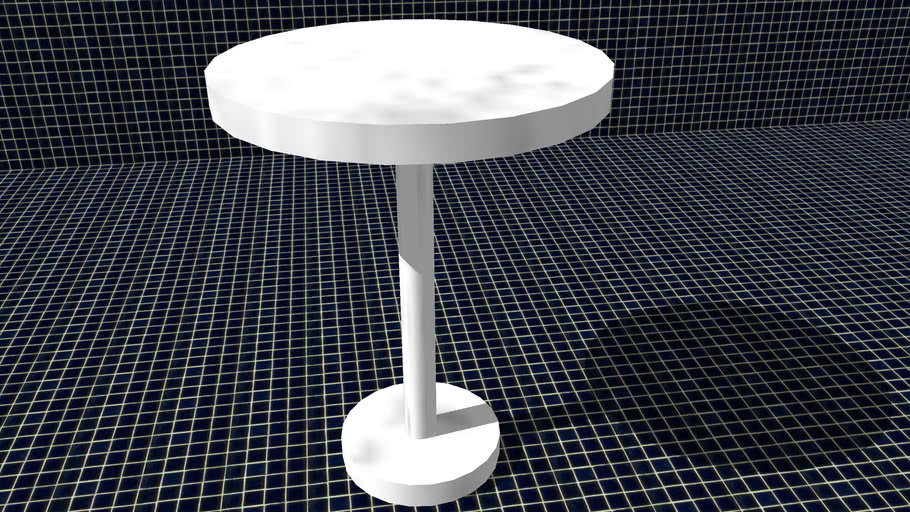 Table - White and Round