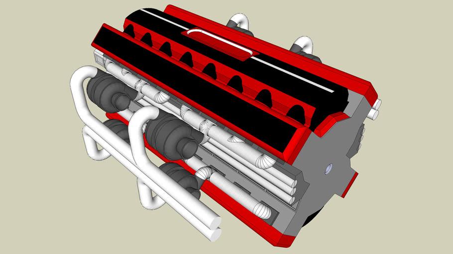 X-32 2 Stroke Engine
