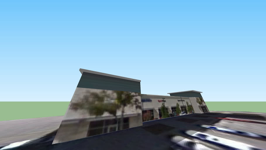 Strip Mall in the Shops of The Galleria of Bee Cave