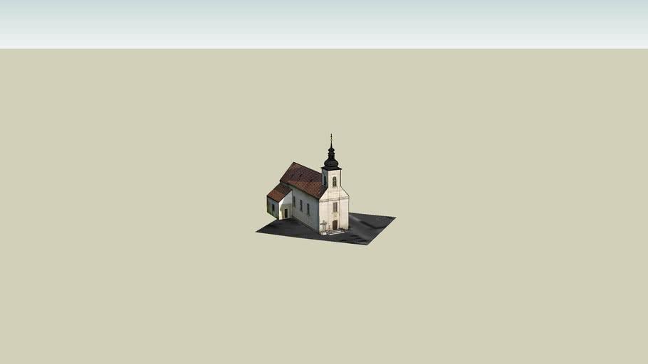 Szigetszentmártoni templom , Saint Marton church