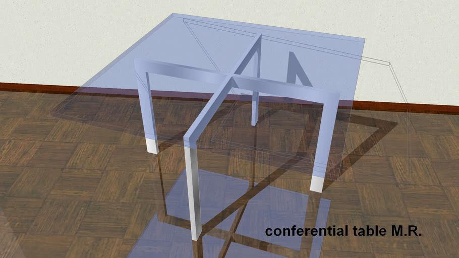 conferential table M.R.