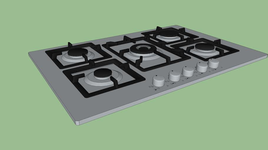 PARRILLA DE GAS TECNOLAM / MODELO TFS704F1C.X