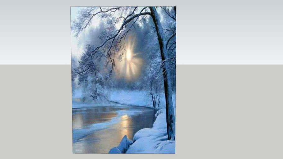 冬雪     Winter snow     海報 poster
