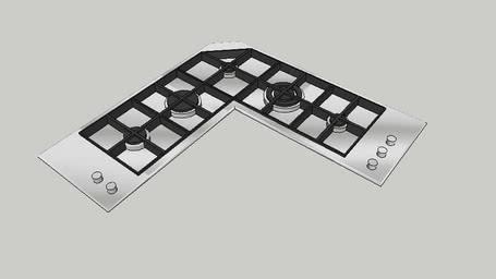 Piano Cottura 5 fuochi | 3D Warehouse