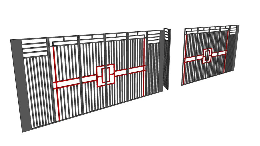 Design fence minimalist
