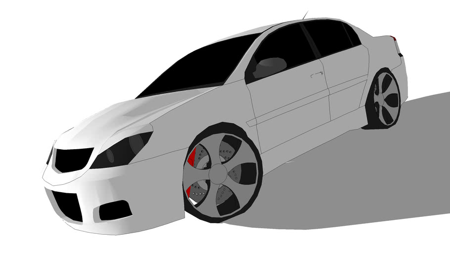 Modified Opel Vectra