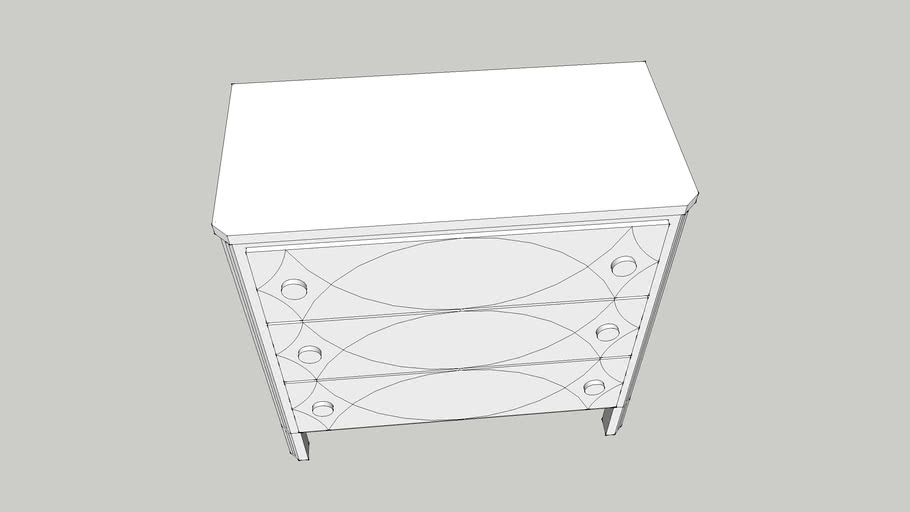 Discoveries French Accent Hall Chest