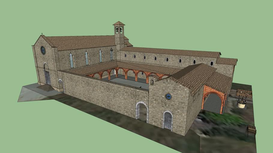 Chiesa San Francesco Anno 1400 - Asciano (SI)