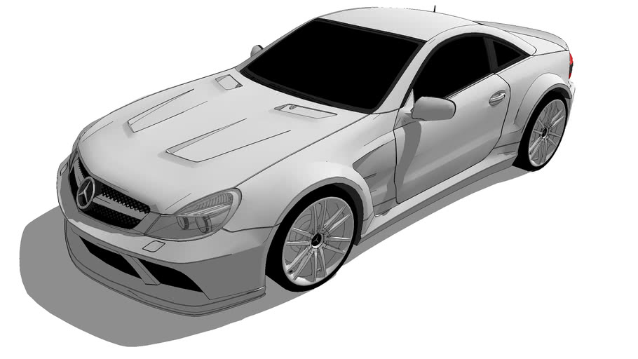 Fahrzeuge - Mercedes-Benz R230 II SL 65 AMG Black Series