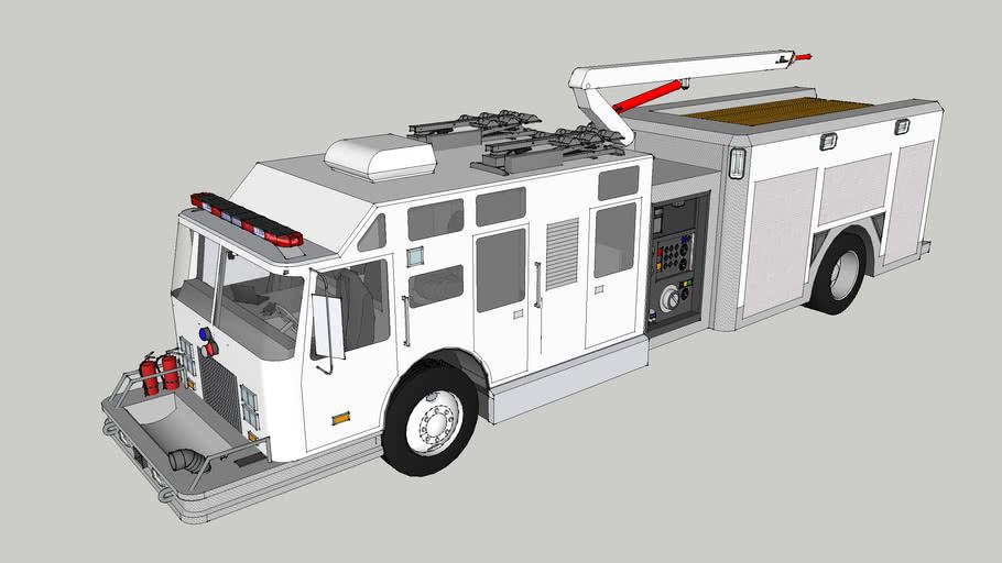 Pierce Snozzle Truck with Patient transport