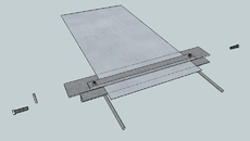 Metal sheet brake/ bender