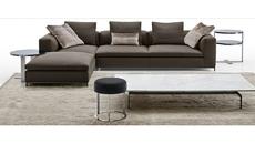 Corner sofa [modern]