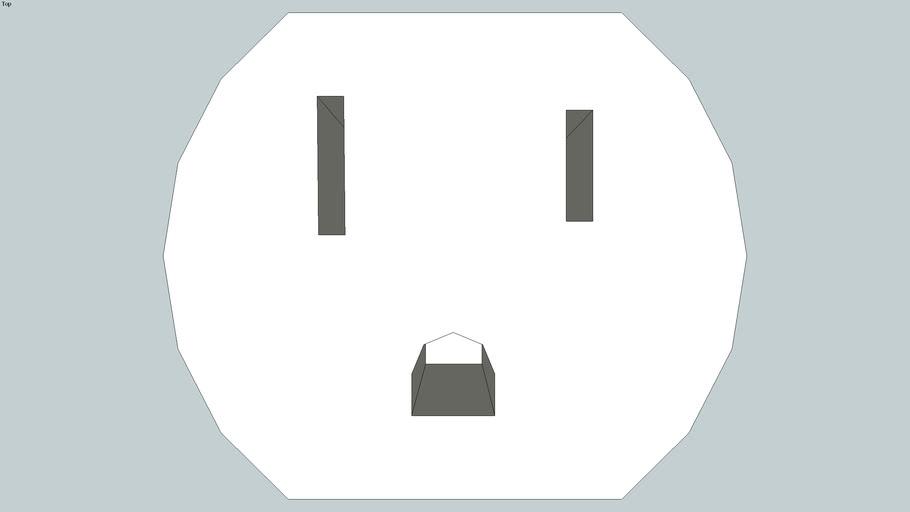 NEMA 5-15R electrical outlet