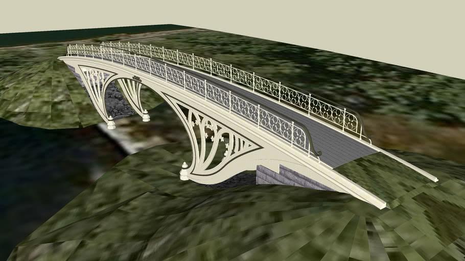 Gothic Bridge, Central Park, NY