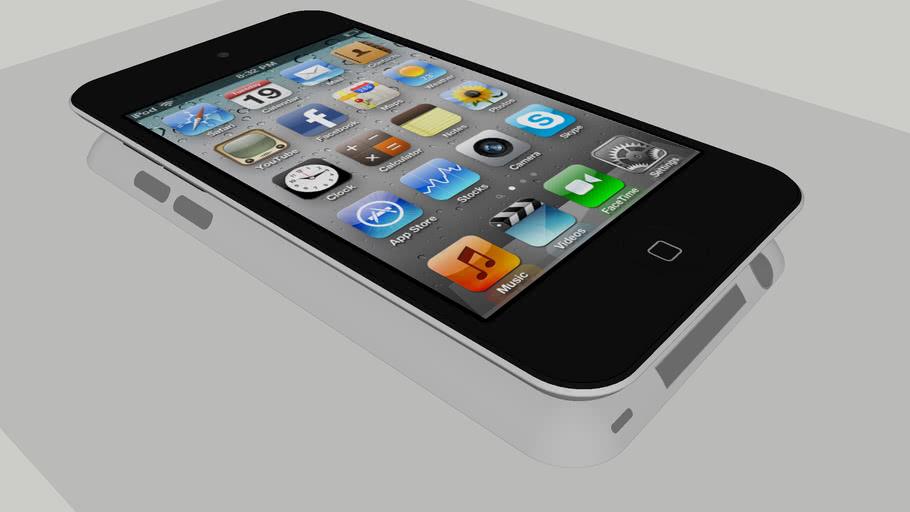 Apple iPod touch 4th Gen | 3D Warehouse