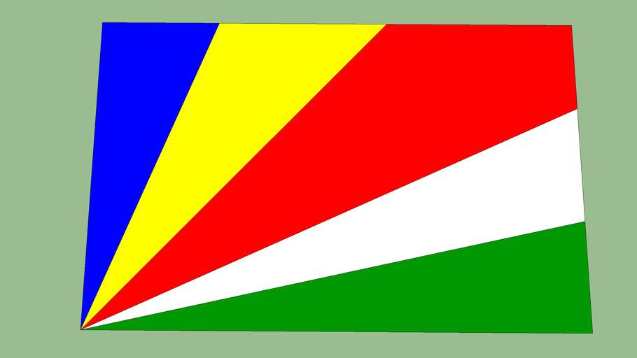 Seychelles National Flag