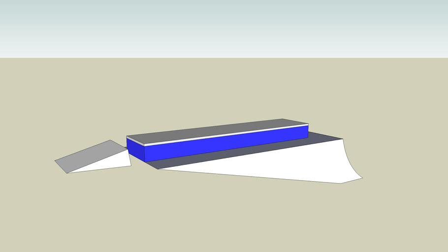 Snowboard/Ski box rail
